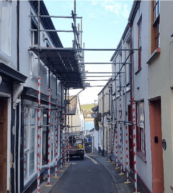 Scaffolding Hire North Devon