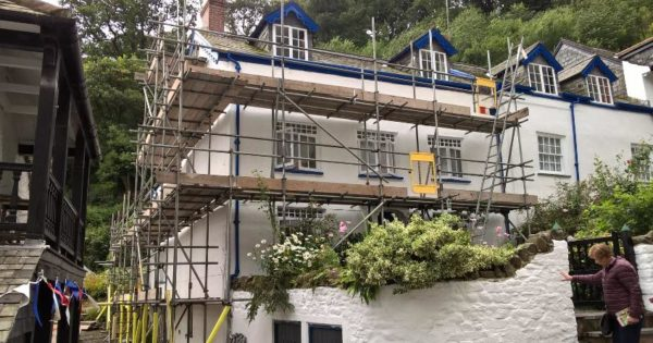 Domestic & Commercial Scaffolding North Devon